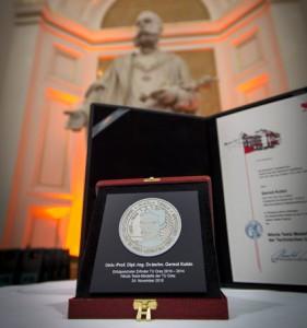 ErfinderInnen Ehrung 2015 in der Aula der Karl Franzens Universität Graz