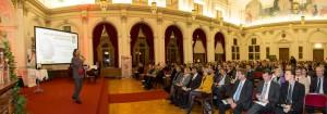 ErfinderInnenEhrung2015 Moderator+Publikum