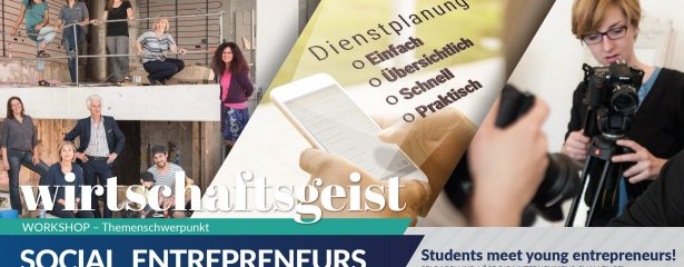 Wirtschaftsgeist-Workshop: Fotocredit - heidenspass.cc, sonected.at, schubiduquartet.com